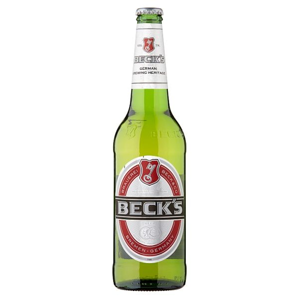 Beck's German Pilsner Beer Bottle 660ml